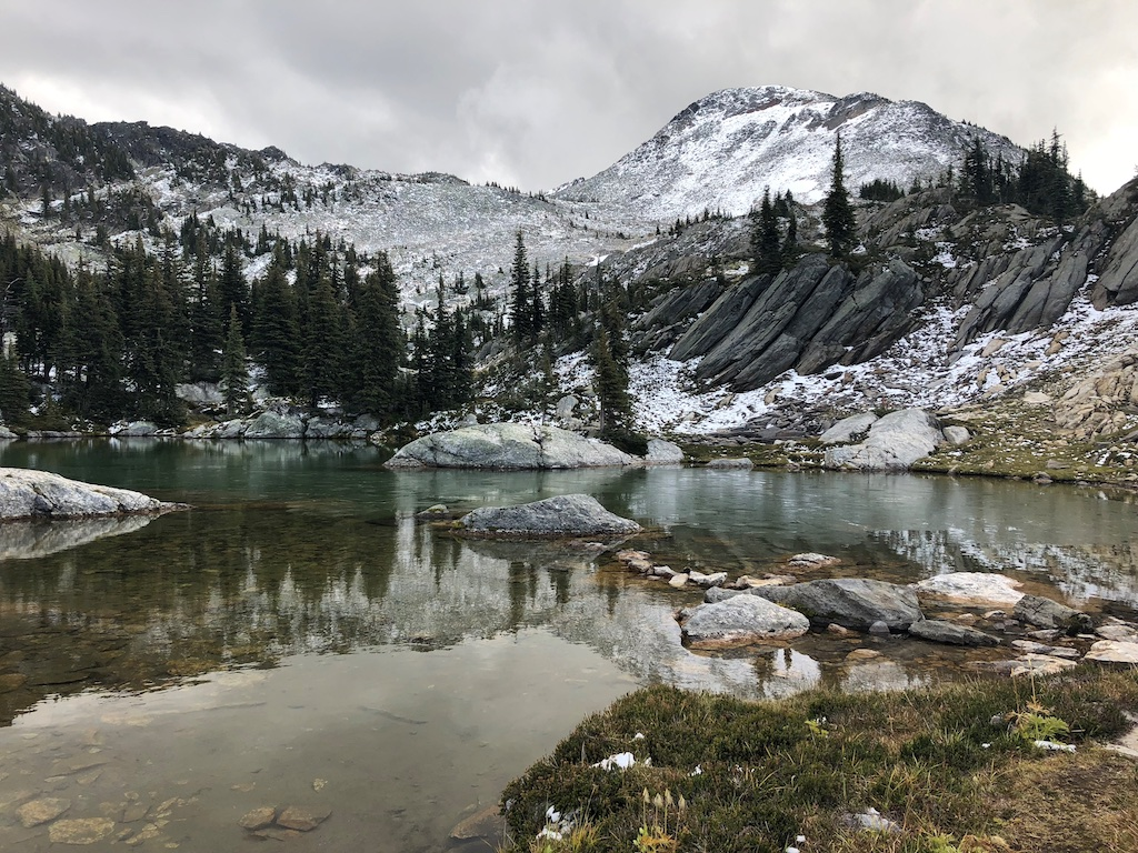 2018-09-18 Twin Lakes Hike Monashees September 2018